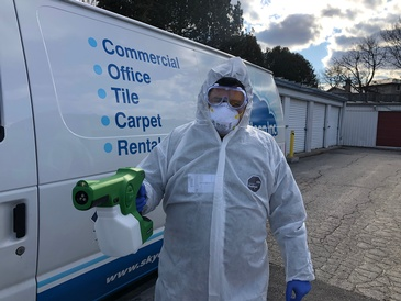 Covid-19 Commercial Disinfection Stratford by SkyClean Inc.