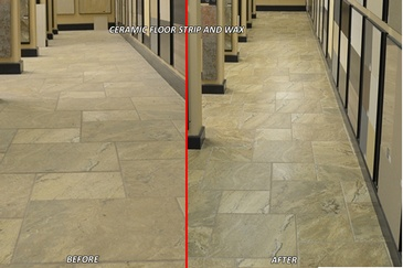Ceramic Floor Strip and Wax Services Tillsonburg by SkyClean Inc.
