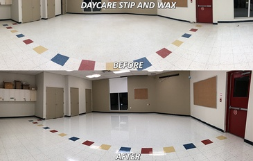 Daycare Before and After Strip and Wax Services London, ON by SkyClean Inc.